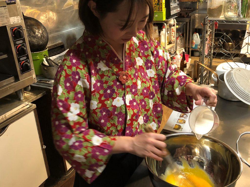 恵ちゃんのシフォンケーキ