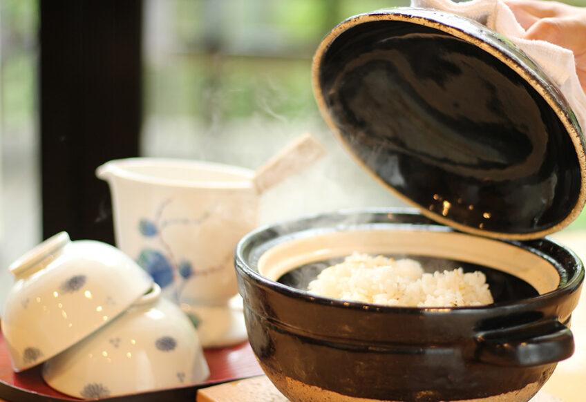 土鍋のご飯